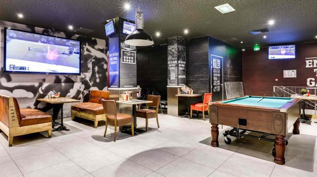 Le Belushi's Gare du Nord : L'espace sport