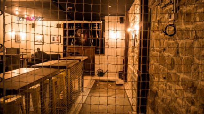 Le Chez Bouboule Montorgueil : Le terrain de pétanque