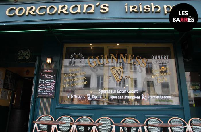 Le Corcoran's Irish Pub à Bastille.