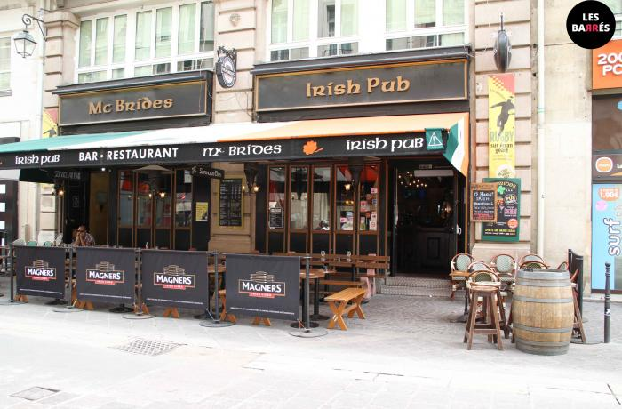 Le McBride's Irish Pub à Paris.