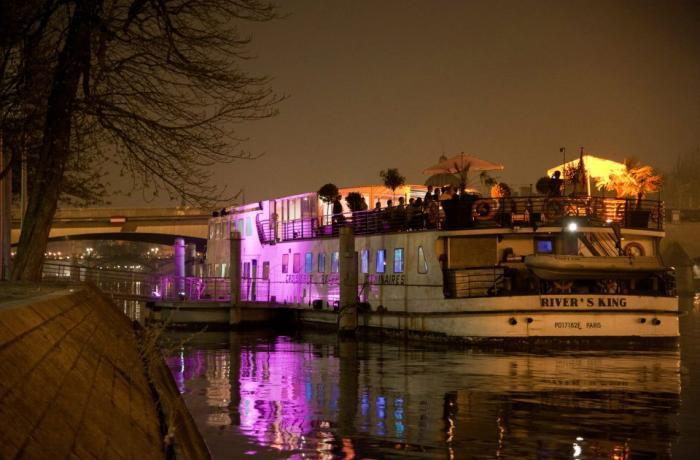 Le River's King à Paris.