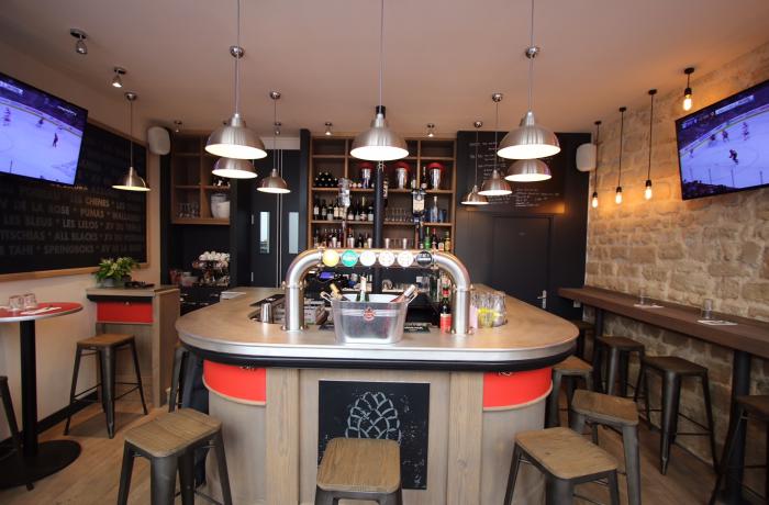 Le Flanker Bar à Paris.