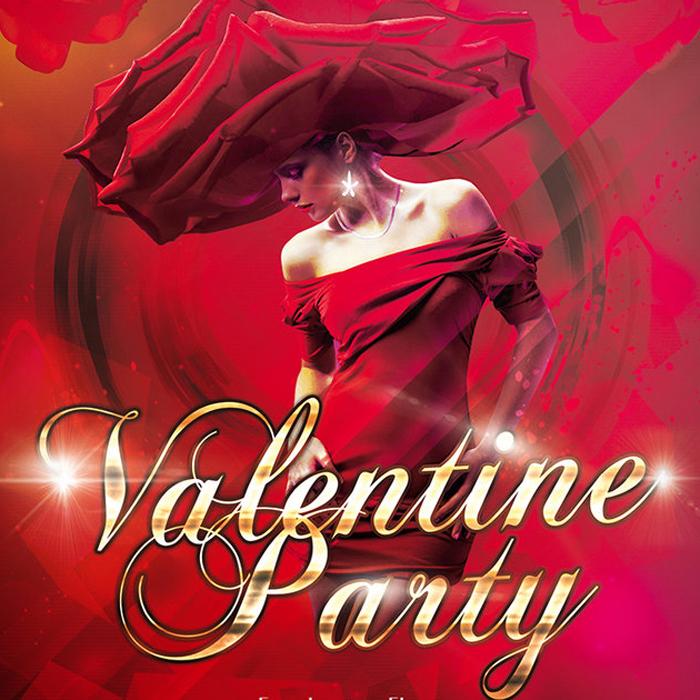 La Valentine Party au Hide Châtelet à Paris.