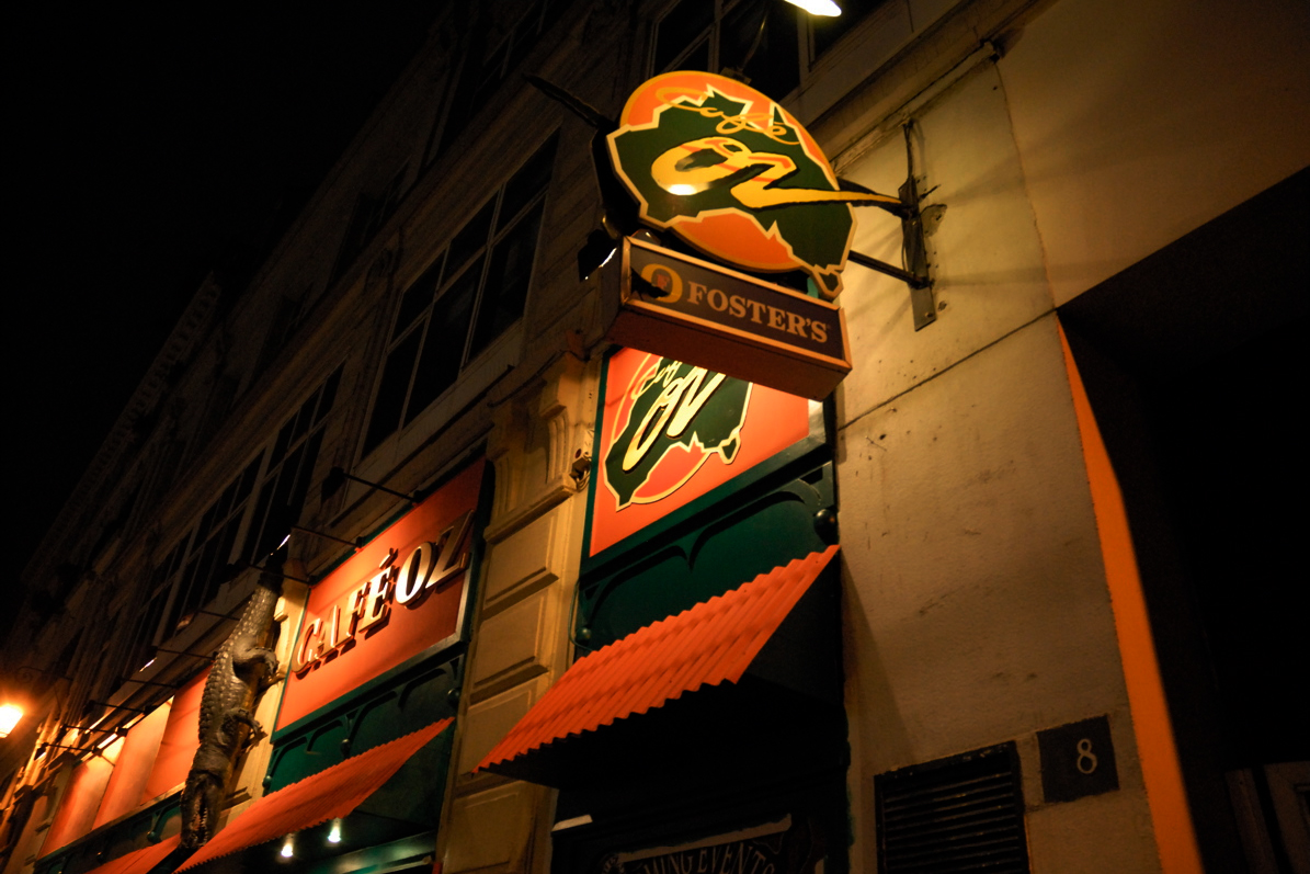 Les Café Oz à Paris.