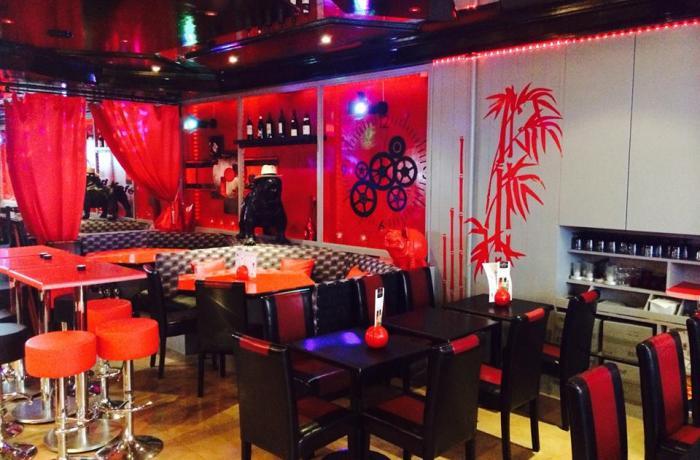Le Red Kafé à Nice.