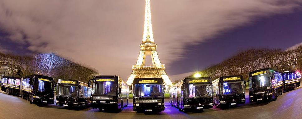 Louer un bus discothèque à Paris.