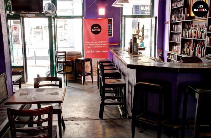 Le Lush Bar à Paris.