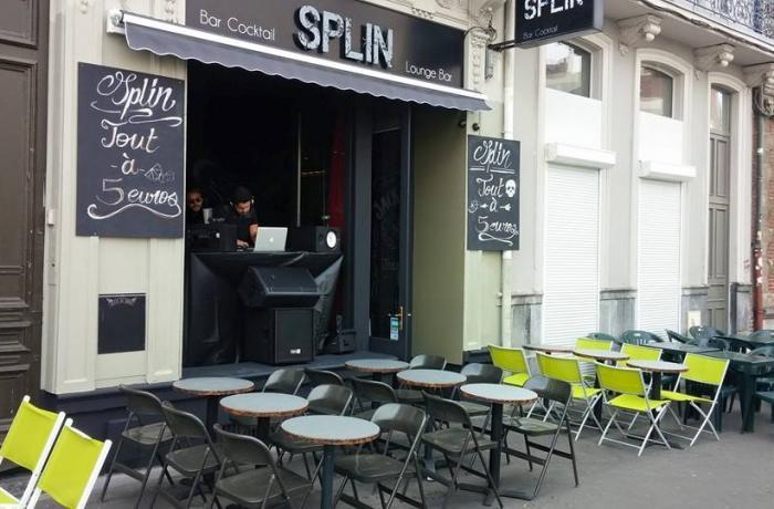 Le Splin bar à Lille.