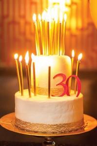 Célébrer ses 30 ans.