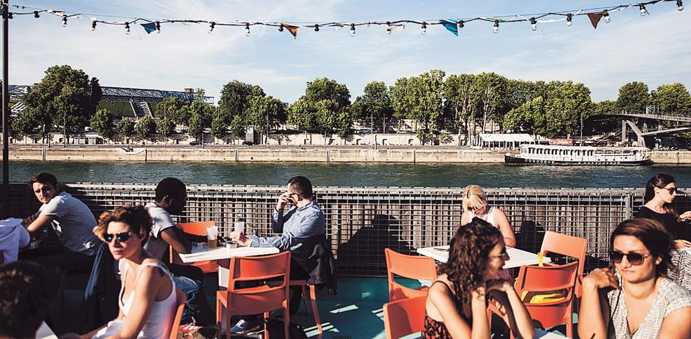 Les terrasses parisiennes de l'été 2017