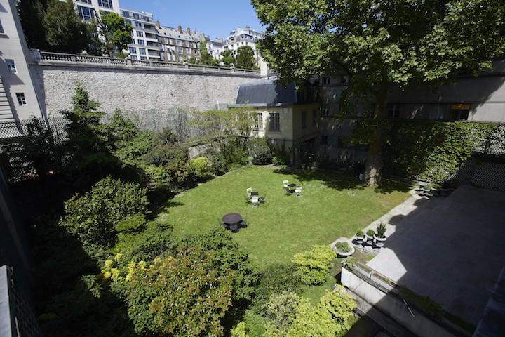 Le jardin de la Summer House