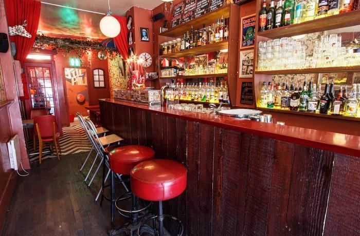 Le PIli Pili : Le bar