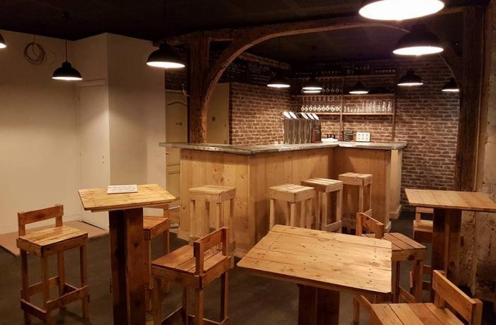 Chez Jouff : L'ensemble du bar