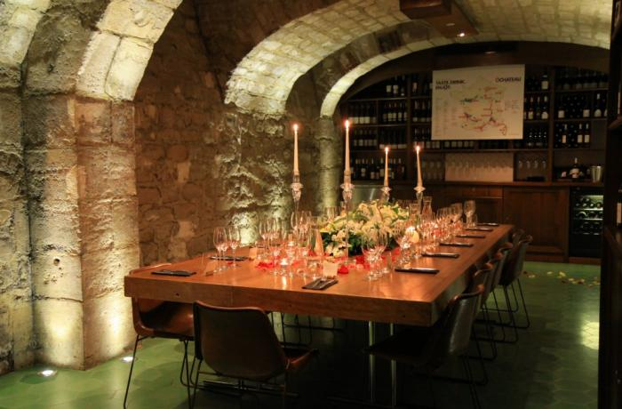 Ô Château : la cave voûtée