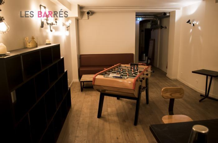 La Seine Café : Le baby-foot
