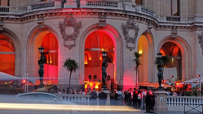 La Roseraie - La Terrasse de l'Opéra Garnier