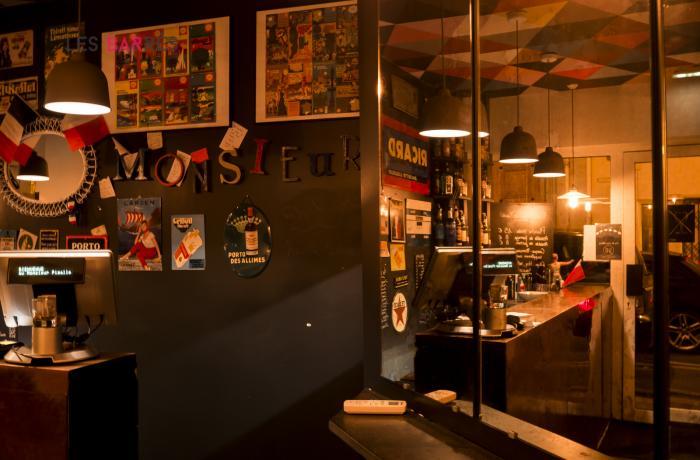 Monsieur le Zinc Pigalle - Le Bar