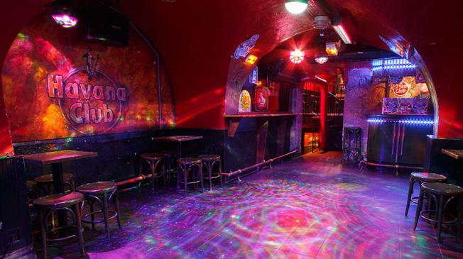 Le Baloo Bar Havana : La cave