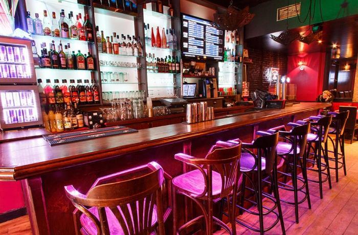 L'adresse : Le bar