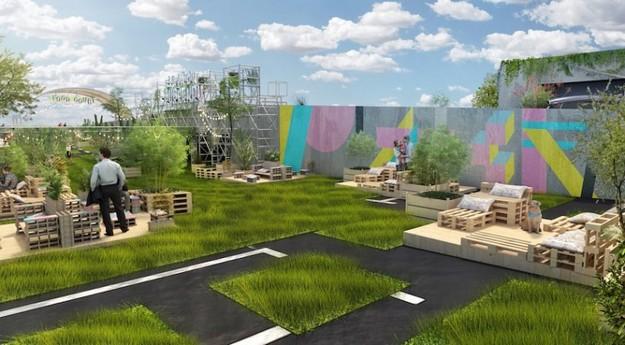 Le Jardin Suspendu : Un petit coin détente