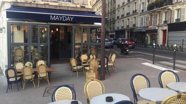 Le MayDay : la terrasse