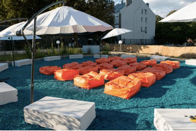 La base Filante, la nouvelle terrasse éphémère