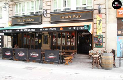 Le Bar-Pub le McBride's Irish Pub à Paris 1 - La devanture