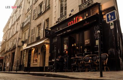 Le Bar le Mil'a à Paris 1 - La devanture