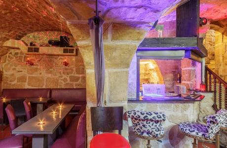 Le Bar-Restaurant la Cave du 31 à Paris 5 - Les escaliers