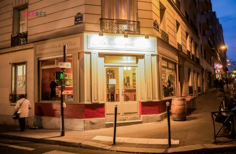 Le Bar-Restaurant le Cachiquet à Paris 12 - La devanture
