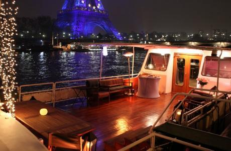Privatiser une péniche à Paris