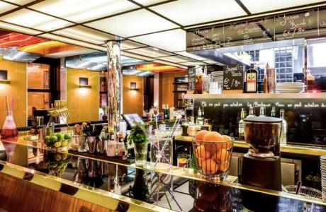 Le Bar-Restaurant le Parisien à Paris 3 - La totalité de l'établissement