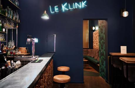 Le Bar-Pub le Klink à Paris 9 - Le bar