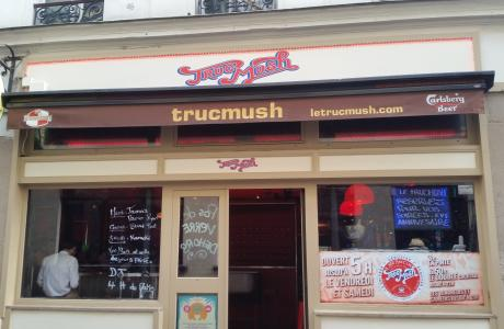 Le Bar-Pub le Trucmush à Paris 11 - La devanture