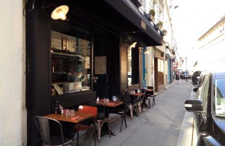 Le Bar-Restaurant le Moriarty à Paris 9 - La devanture