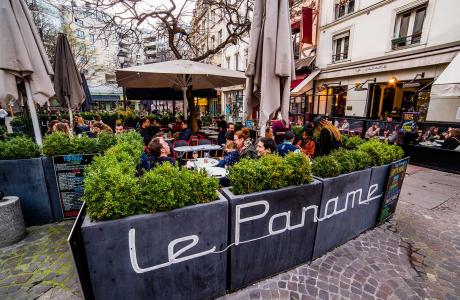 Le Bar-Restaurant le Paname à Paris 1 - La terrasse Réserver des tables