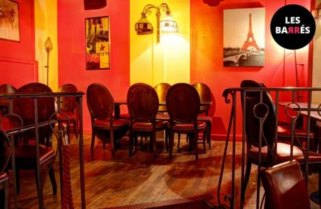 Le Bar-Club le Club Cardinal à Paris 2 - Un coin cosy