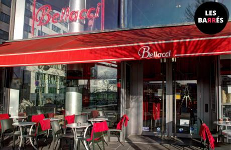 Le Bar-Restaurant le Bellacci à Paris 13 - La terrasse