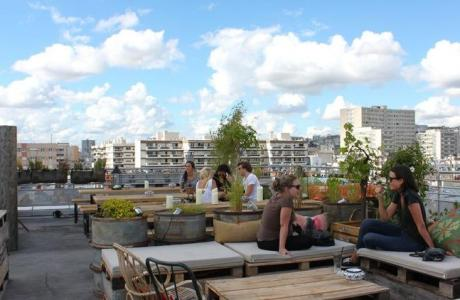 Le Bar-Restaurant Le Perchoir à Paris 111 - Le Rooftop