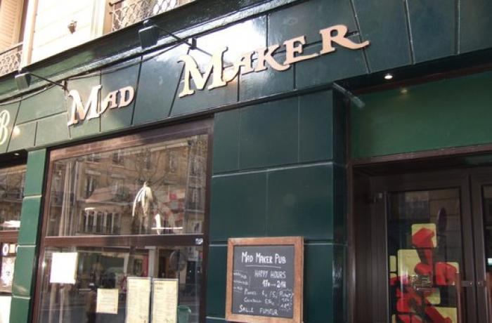 Le Bar-Pub le Mad Maker à Paris 5 - La devanture