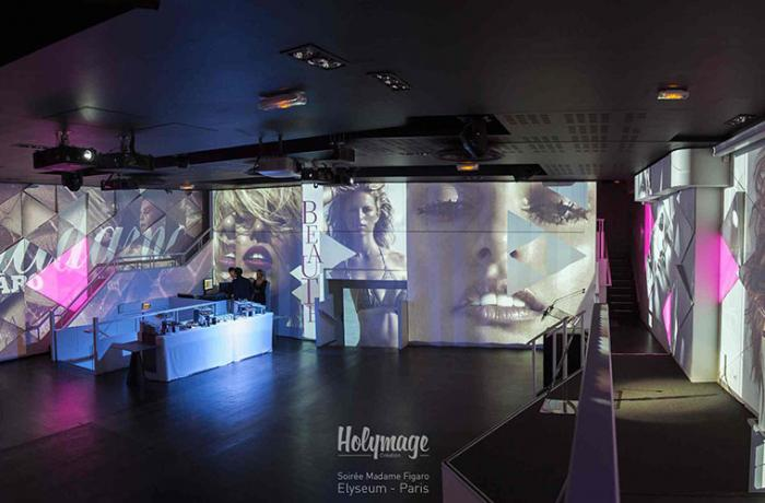 Le Restaurant-Club l'Elyséeum à Paris 8 - Une projection incroyable