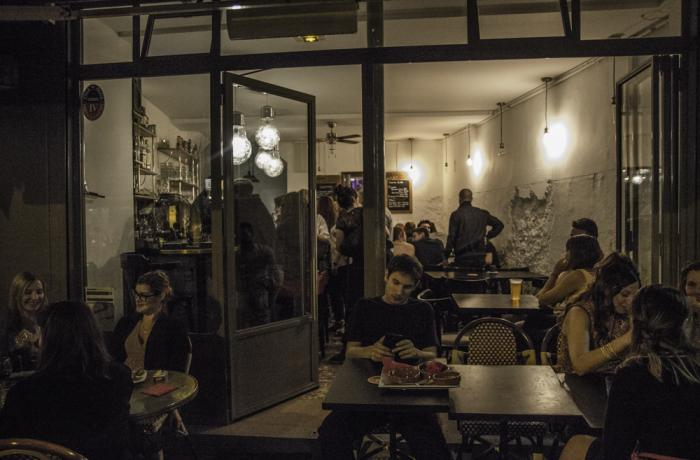 Le Bar les Philanthropes à Paris 11 - Une vue
