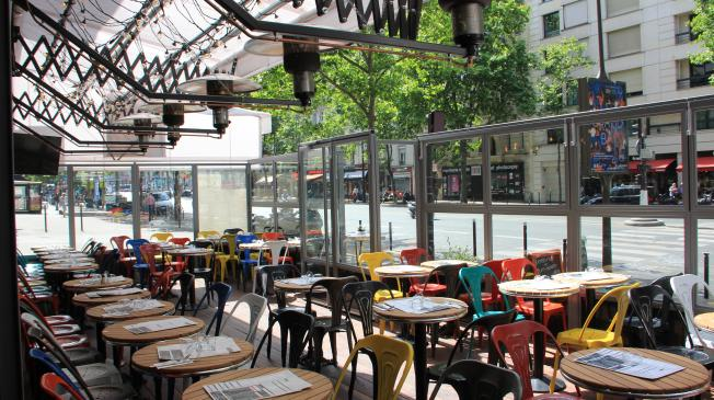 Bar le dream caf montparnasse paris r server avec lesbarr s - Terrasse jardin resto paris toulouse ...