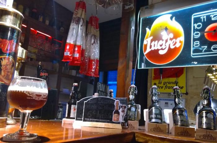 Le Bar-Pub le Lucifer à Bordeaux - Le bar