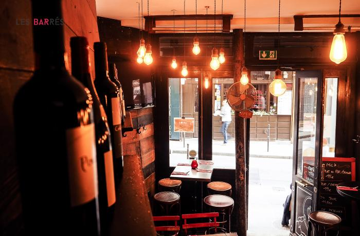 Le Bar le Mil'a à Paris 1 - L'entrée du bar