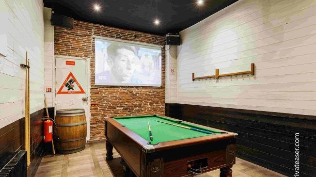 Le Billard du French Flair à Paris