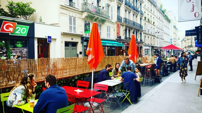 privatiser une terrasse