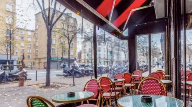 Le Bar-Restaurant l'O'Moka Bar à Paris 18 - La terrasse