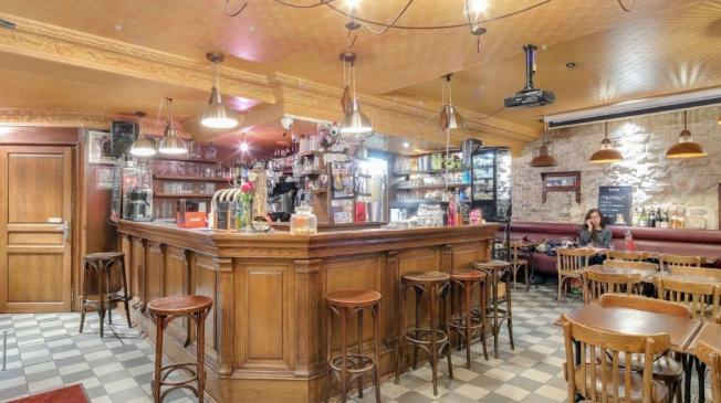 Le restaurant Mon Café à Paris 12 - Le bar