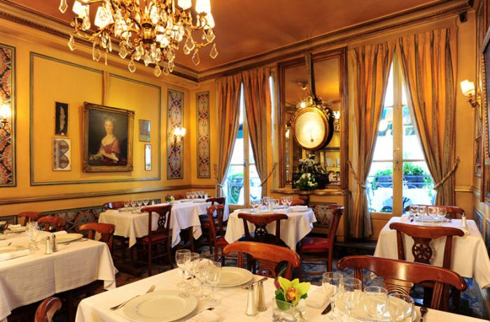 Le Bar-Restaurant le Procope à Paris 6 - La décoration